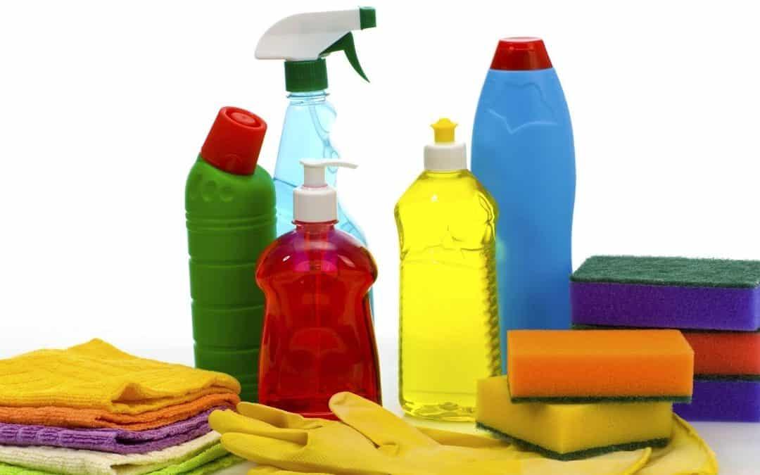 Los productos de limpieza más utilizados por empresas de limpieza