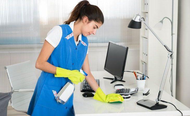 Limpieza en empresa